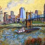 Ohio River Barge