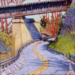 Spooky Hollow RR Bridge  SOLD